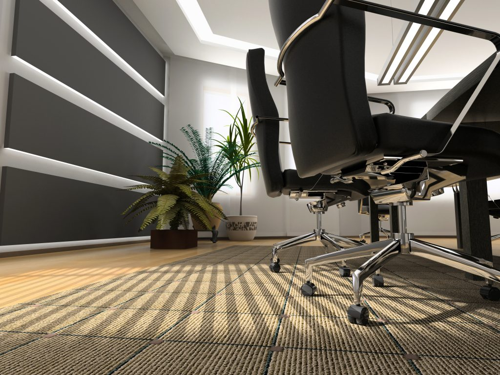 Cleaning office carpets ensure good indoor air quality!