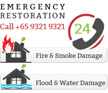 Singapore disaster restoration services